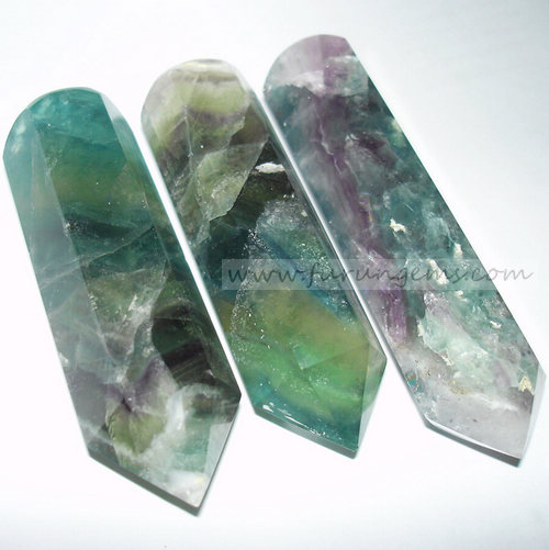 fluorite massage wands