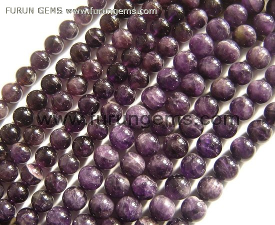 Amethyst AB round beads 18mm,20mm