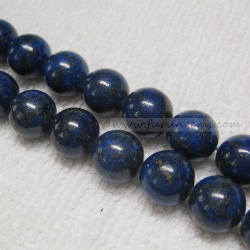 10mm Lapis A round beads