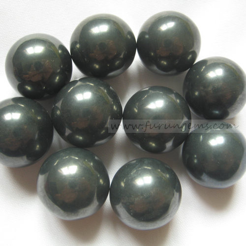 natural hematite 18mm sphere/ball ,no hole